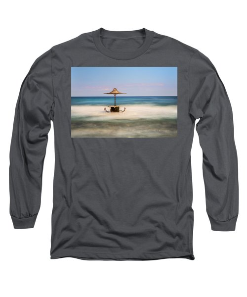 Seaside Bar Long Sleeve T-Shirt