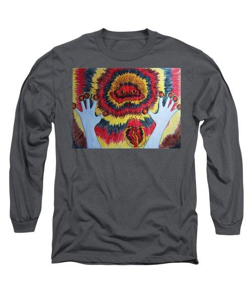 Splitting Long Sleeve T-Shirt