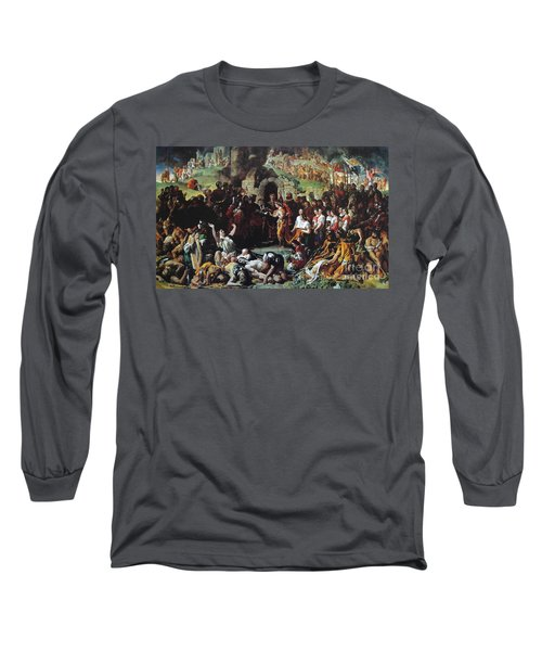 The Marriage Of Strongbow And Aoife Long Sleeve T-Shirt