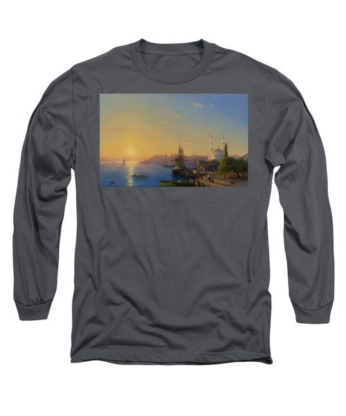 View Of Constantinople And The Bosphorus Long Sleeve T-Shirt