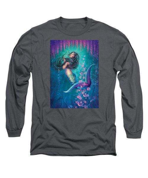 Wisteria - Soften The Edges Long Sleeve T-Shirt