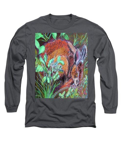 032917louisiana Swamp Rabbit Long Sleeve T-Shirt
