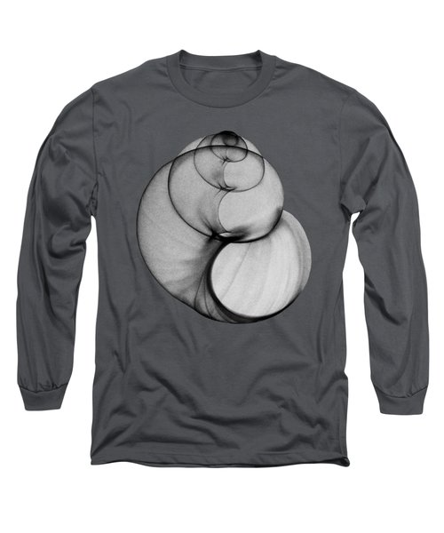 X-ray Photo Of Fresh Water Pond Snail Long Sleeve T-Shirt
