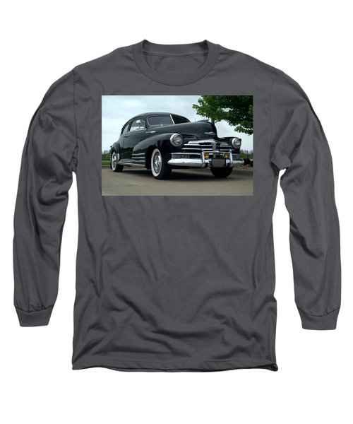 1948 Chevrolet Fleetline Custom Long Sleeve T-Shirt