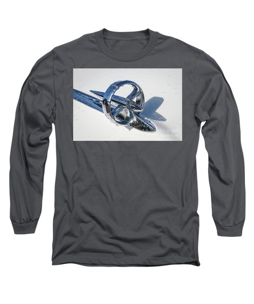 Long Sleeve T-Shirt featuring the photograph 1953 Buick Hood Ornament by Dennis Hedberg