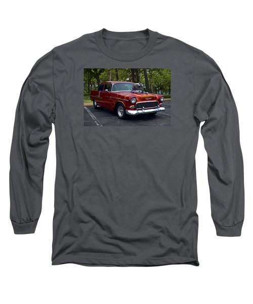 1955 Chevrolet Dragster Long Sleeve T-Shirt