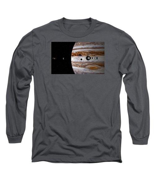 A Sense Of Scale Long Sleeve T-Shirt by David Robinson