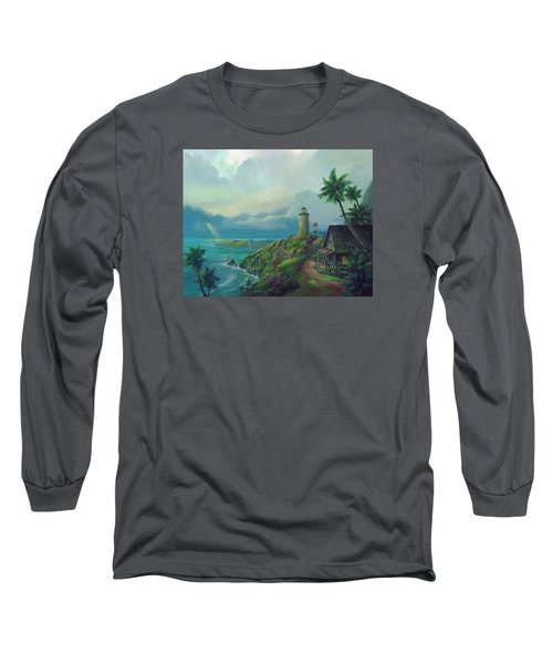 A Small Patch Of Heaven Long Sleeve T-Shirt by Michael Humphries