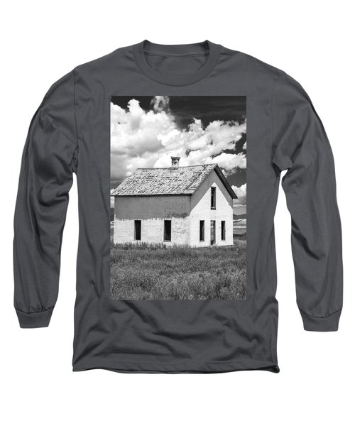 Long Sleeve T-Shirt featuring the photograph Abandoned by Colleen Coccia