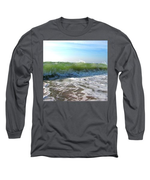 About To Break Long Sleeve T-Shirt