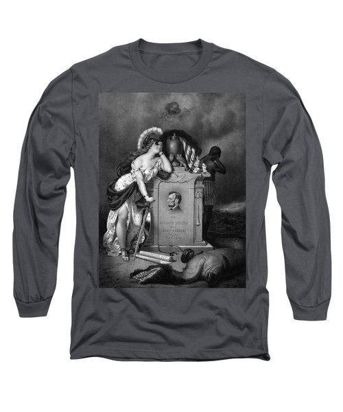 Abraham Lincoln -- In Memoriam Long Sleeve T-Shirt
