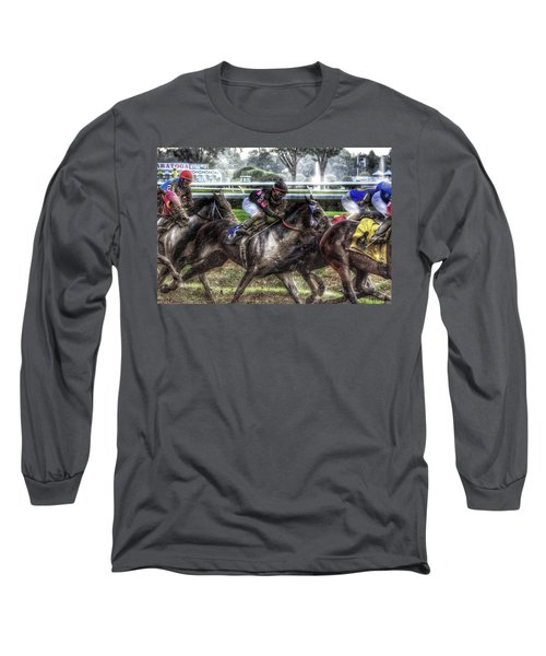 In The Rain Long Sleeve T-Shirt