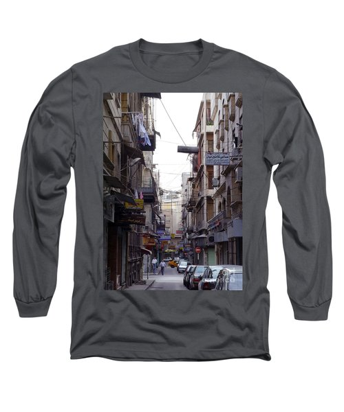 Aleppo Street01 Long Sleeve T-Shirt