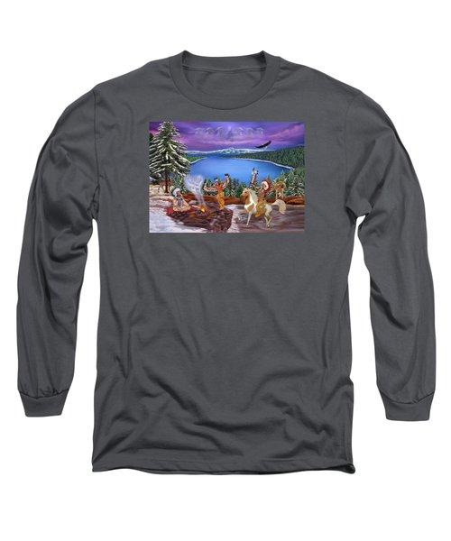 Among The Spirits Long Sleeve T-Shirt by Glenn Holbrook