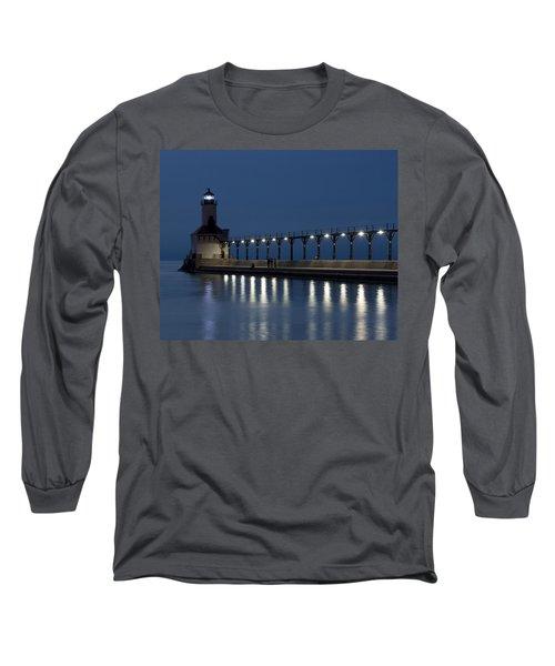 An Evening At The Lighthouse Long Sleeve T-Shirt
