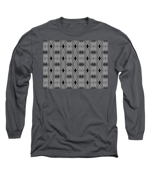 Ancient Carvings In Grays Long Sleeve T-Shirt