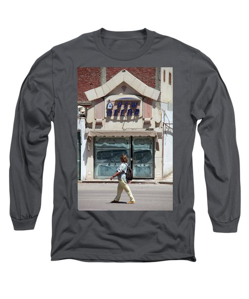 And There Long Sleeve T-Shirt by Jez C Self
