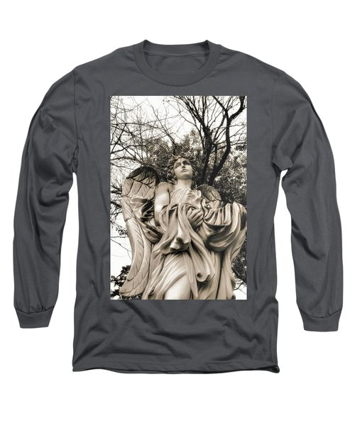 Angel In The Fall Long Sleeve T-Shirt