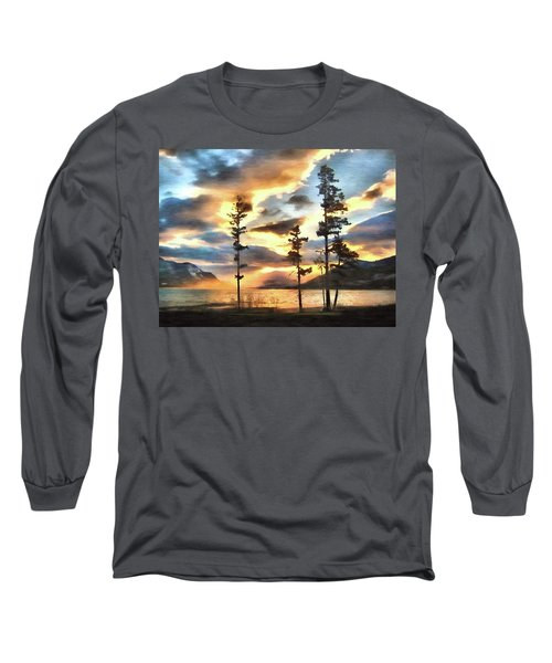 Long Sleeve T-Shirt featuring the photograph Anniversary by Kathy Bassett