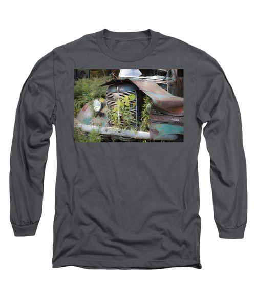 Long Sleeve T-Shirt featuring the photograph Antique Mack Truck by Charles Harden