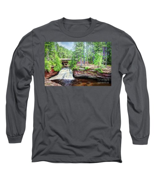 As The Water Falls Long Sleeve T-Shirt