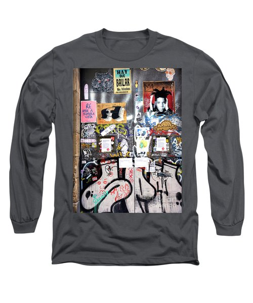 Barcelona Street Art Long Sleeve T-Shirt