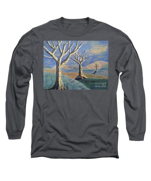 Bare Trees Long Sleeve T-Shirt