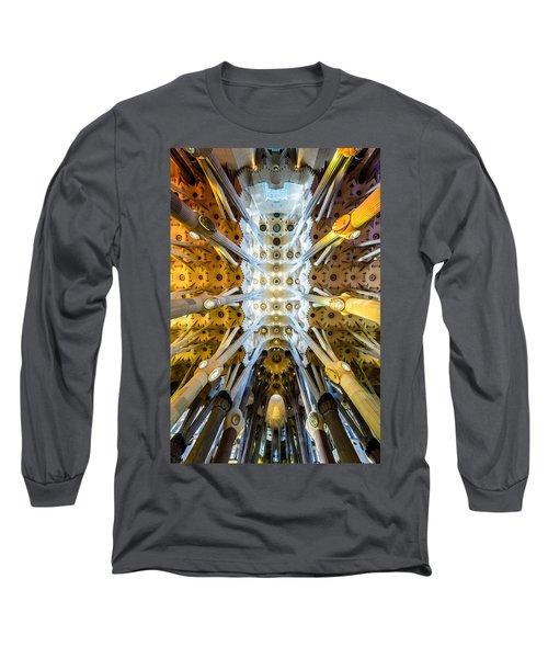 Basilica De La Sagrada Familia Long Sleeve T-Shirt