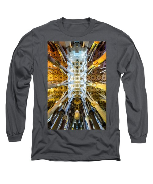 Basilica De La Sagrada Familia Long Sleeve T-Shirt