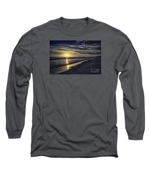 Beach Sunset 1021b Long Sleeve T-Shirt