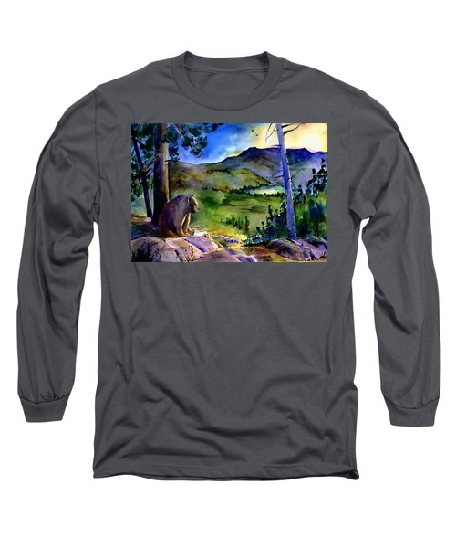 Bearly Light At Castle Peak Long Sleeve T-Shirt