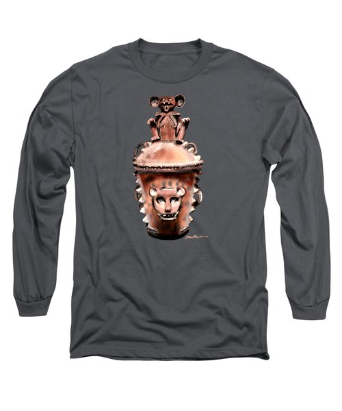 Long Sleeve T-Shirt featuring the painting Before Mickey by Jean Pacheco Ravinski