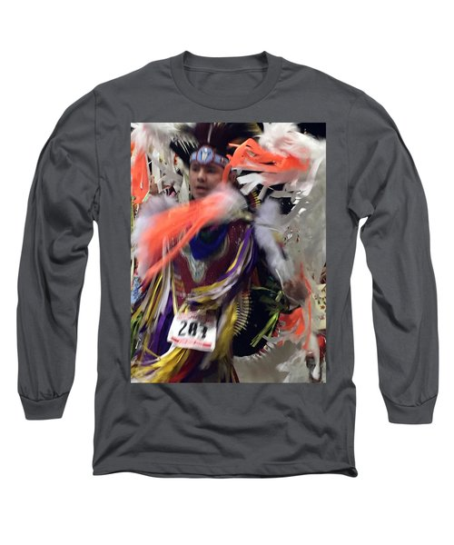 Behind The Feathers Long Sleeve T-Shirt