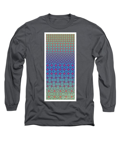 Bibi Khanum Ds Patterns No.3 Long Sleeve T-Shirt