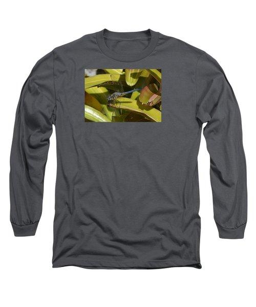 Blue Dasher Long Sleeve T-Shirt