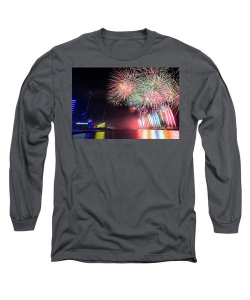 Boathouse Fireworks Long Sleeve T-Shirt