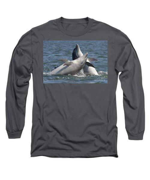 Bottlenose Dolphins  - Scotland  #15 Long Sleeve T-Shirt