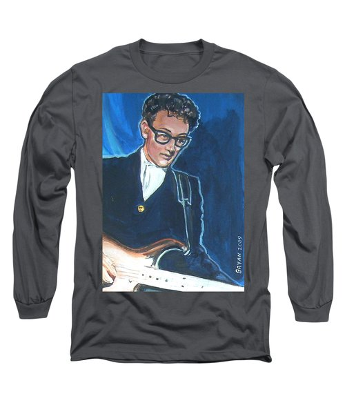 Buddy Holly Long Sleeve T-Shirt