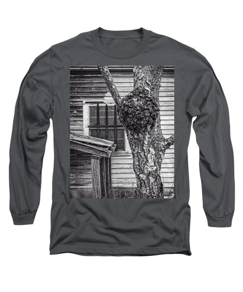 Burl And Window Long Sleeve T-Shirt