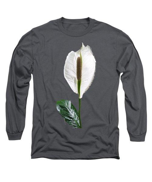 Calla Lily Long Sleeve T-Shirt