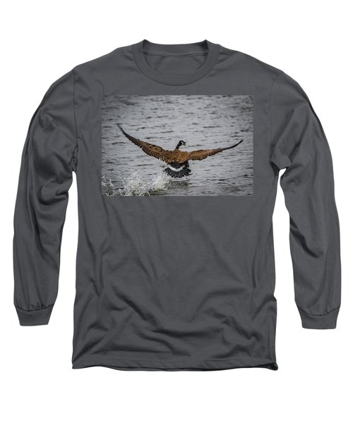Canada Goose Long Sleeve T-Shirt by Ray Congrove