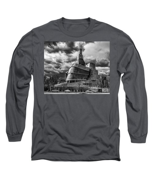 Canadian Museum For Human Rights Long Sleeve T-Shirt by Tom Gort