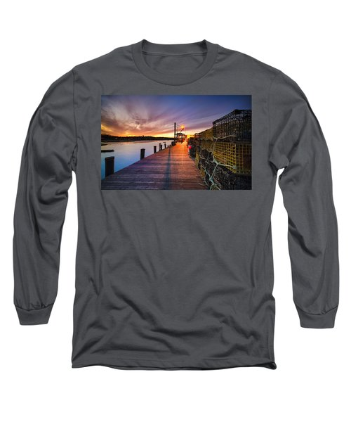 Cape Porpoise Long Sleeve T-Shirt by Robert Clifford