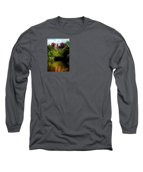 Cathedral Rock Long Sleeve T-Shirt by Ivete Basso Photography
