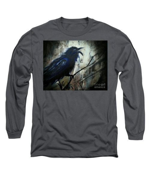 Cawing The Storm Long Sleeve T-Shirt