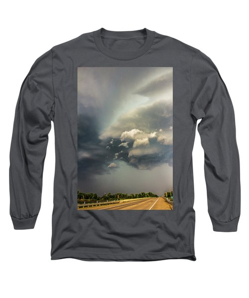 Another Stellar Storm Chasing Day 019 Long Sleeve T-Shirt