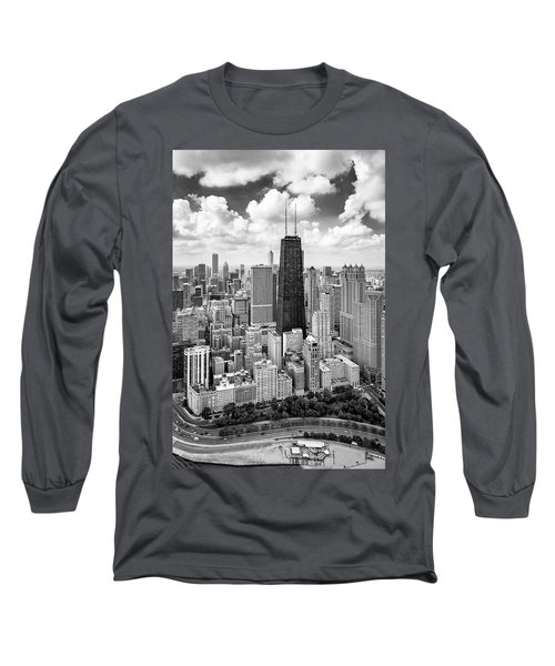 Long Sleeve T-Shirt featuring the photograph Chicago's Gold Coast by Adam Romanowicz
