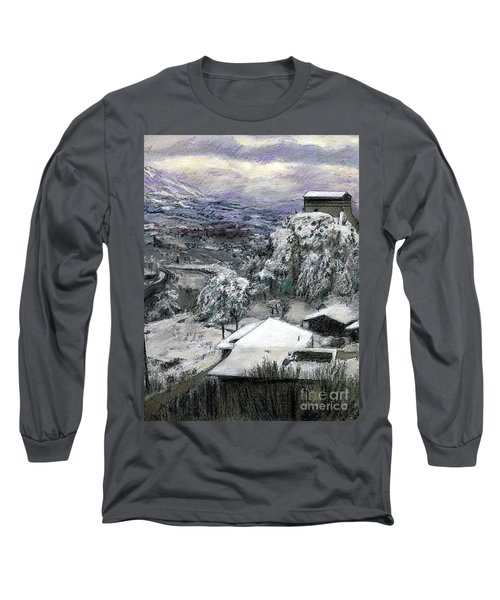 Chiesa San Vito In The Snow Long Sleeve T-Shirt