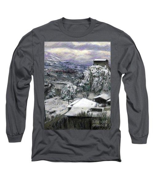 Chiesa San Vito In The Snow Long Sleeve T-Shirt