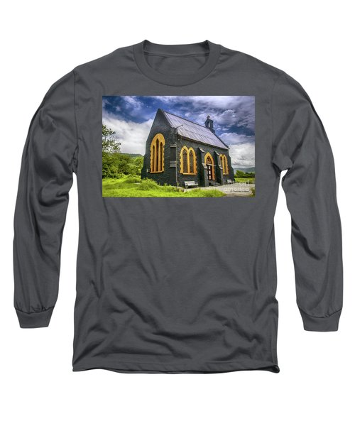 Long Sleeve T-Shirt featuring the photograph Church by Charuhas Images